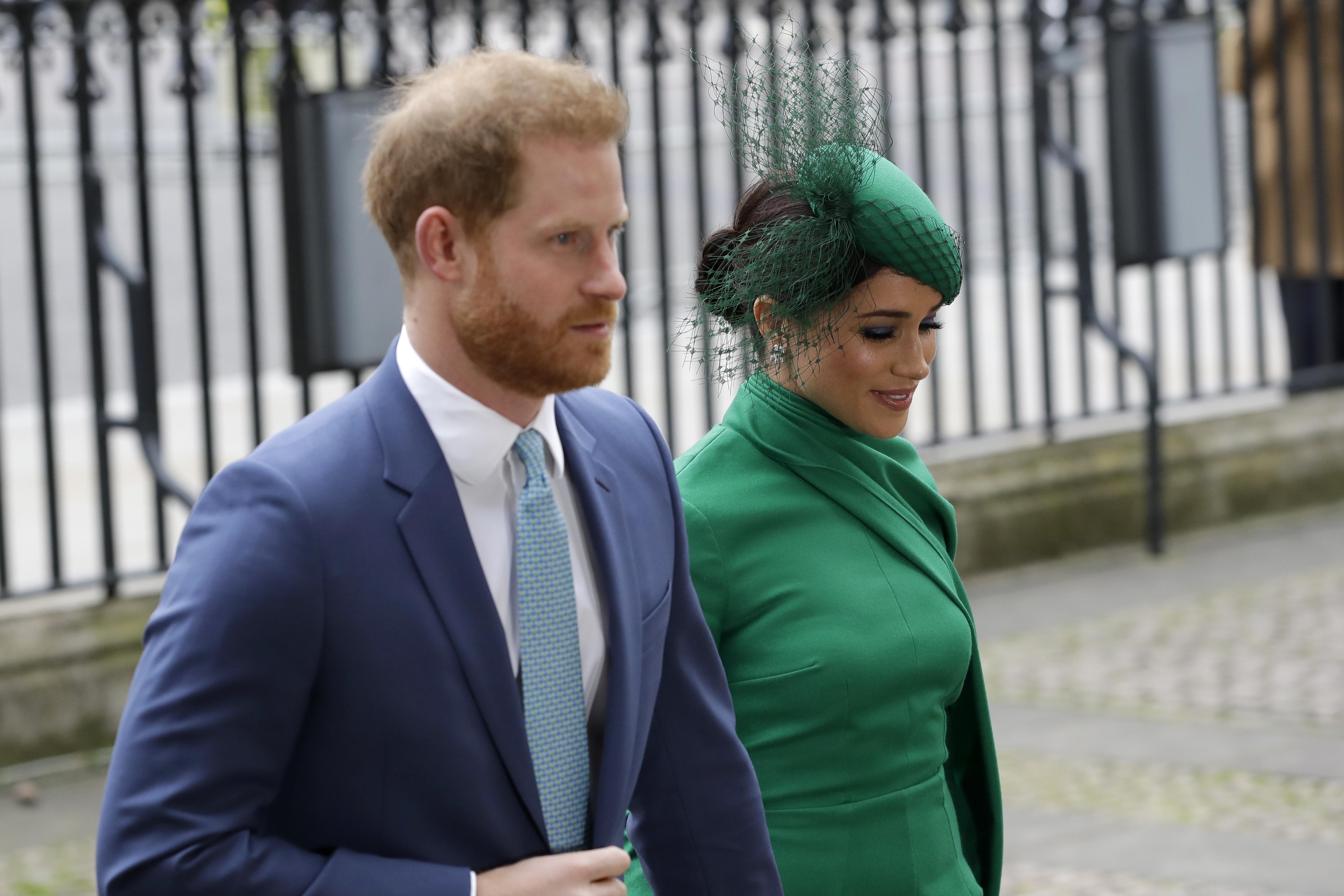 Al evento asistieron los demás miembros de la realeza, incluyendo la reina Elizabeth II. (Phil Harris / Pool via AP)
