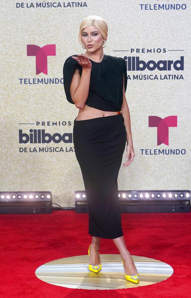 Sofía Reyes. (AP)