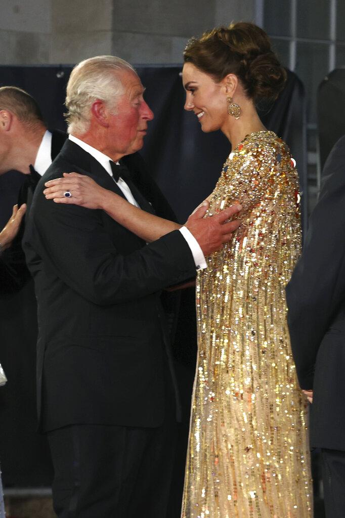 El príncipe Charles y Kate. (AP)