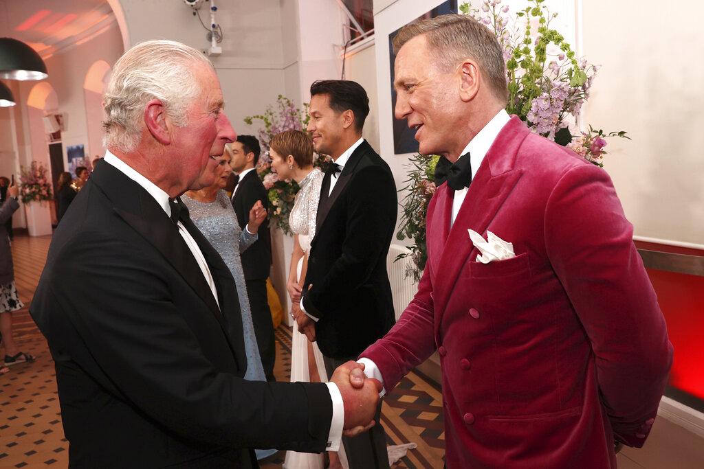 Es la última salida de Craig como 007. (AP)
