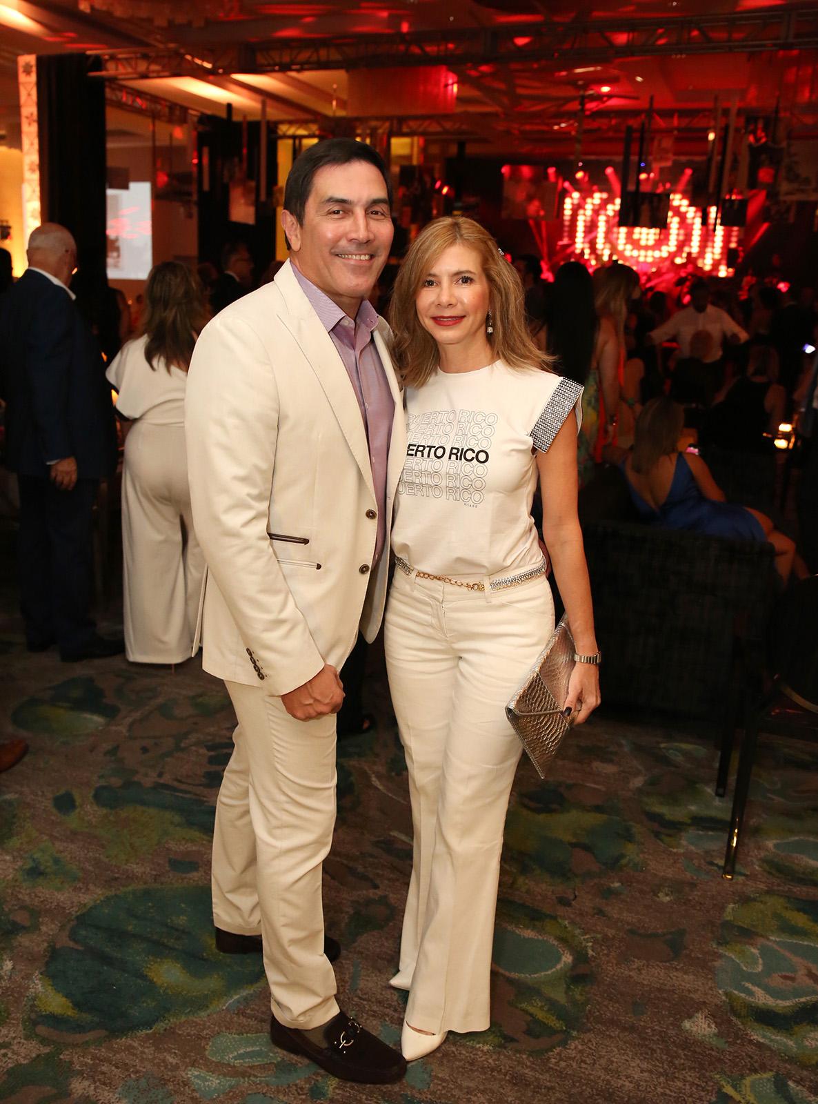 Melvin Hernández y Soliana Fusté.