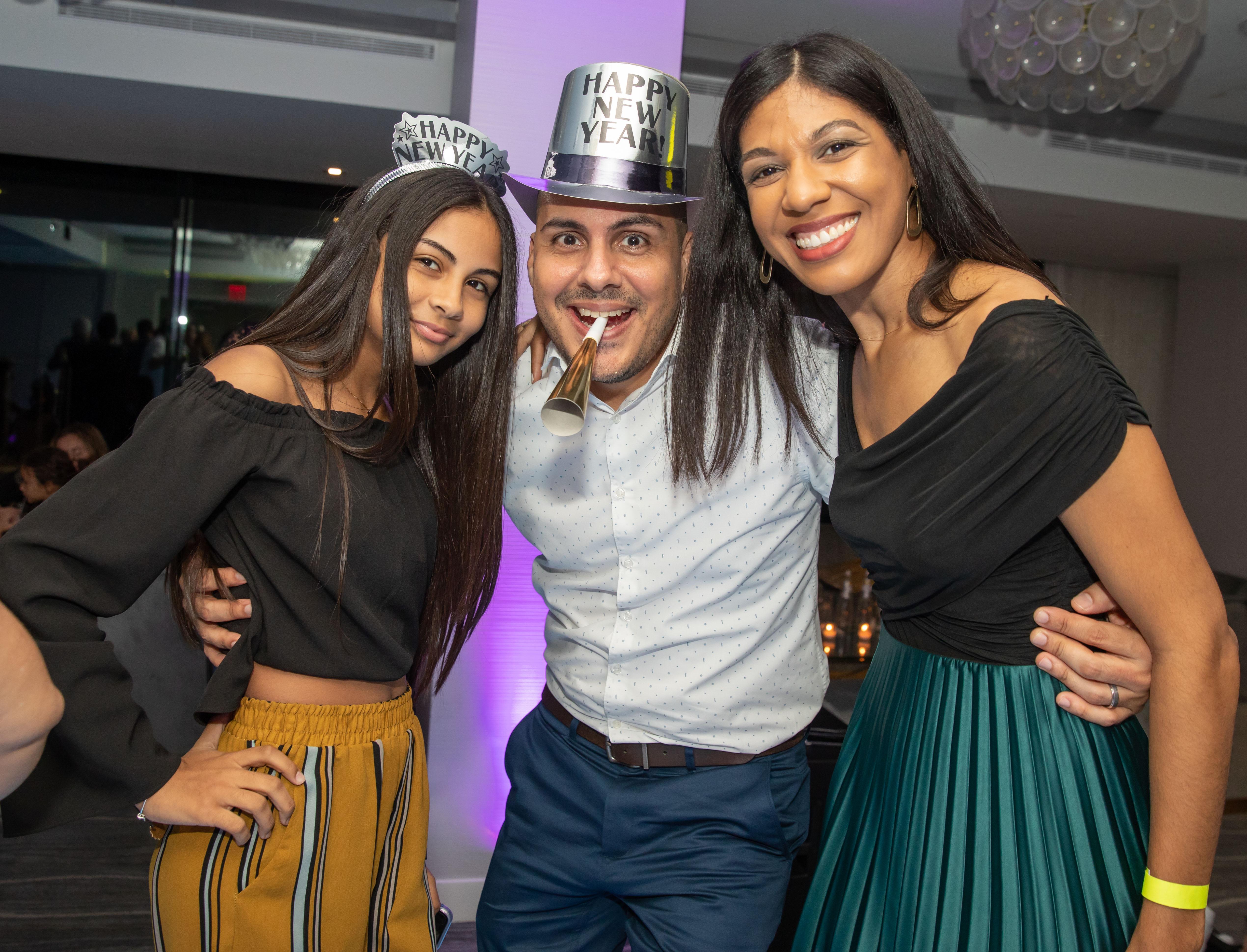 Ariana Alvarado, Jose Alvarado y Eribel Casado. (Suministrada)