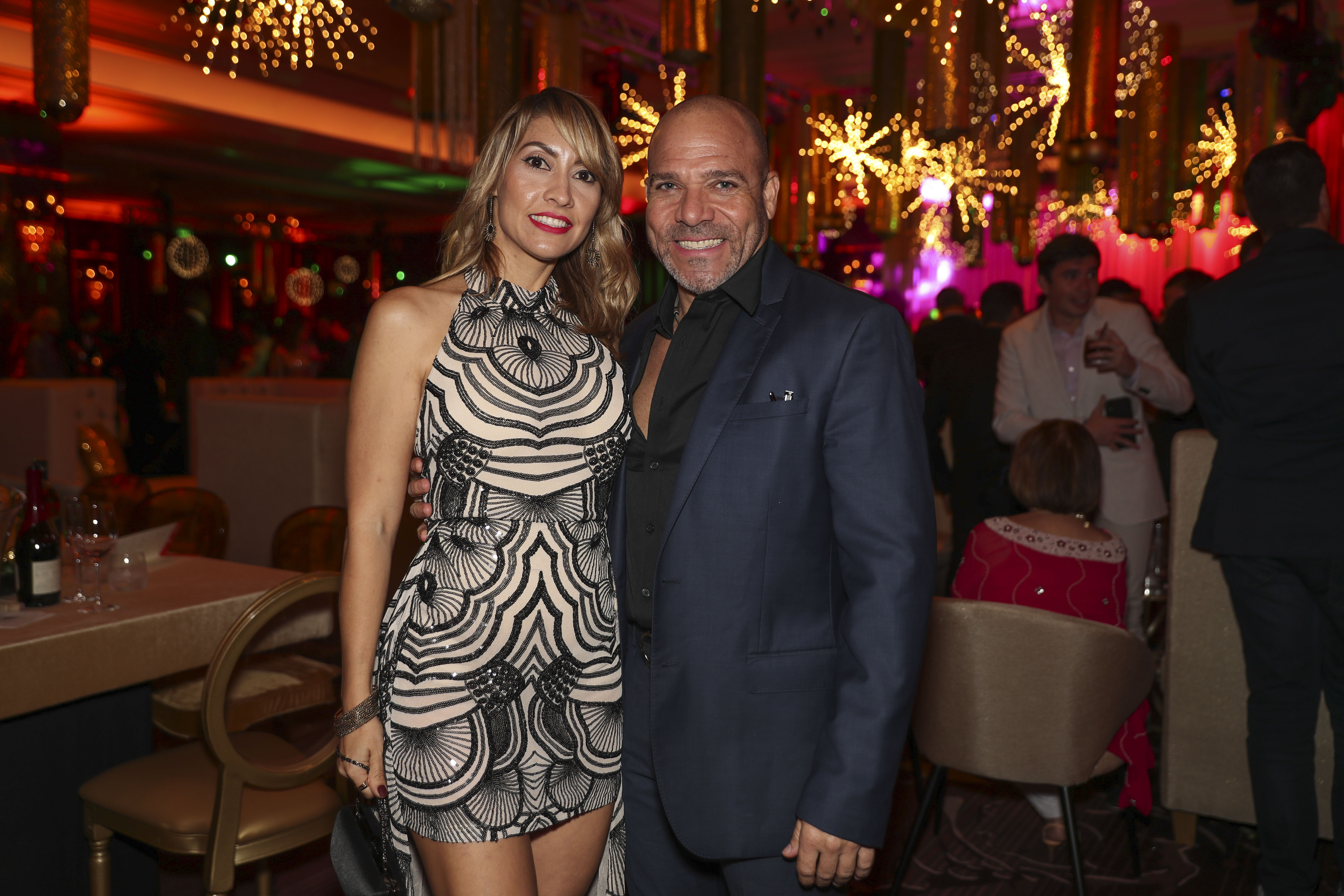 Arlyn Pérez y Joche Santiago. (Suministrada)