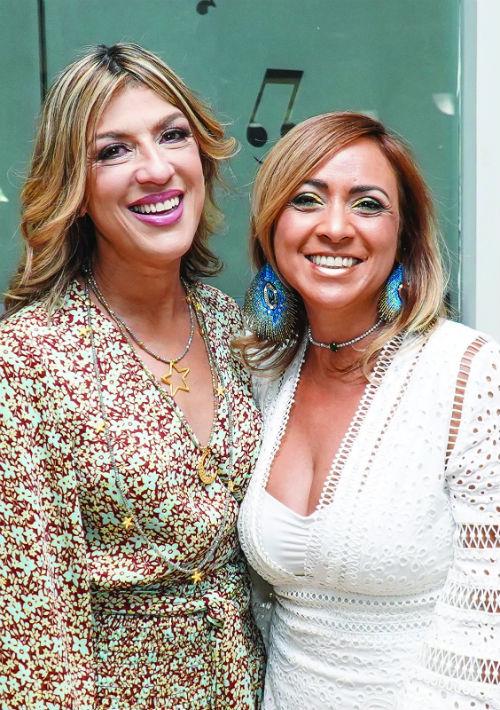 Taty Jordán y Érika Vélez. (Suministrada)