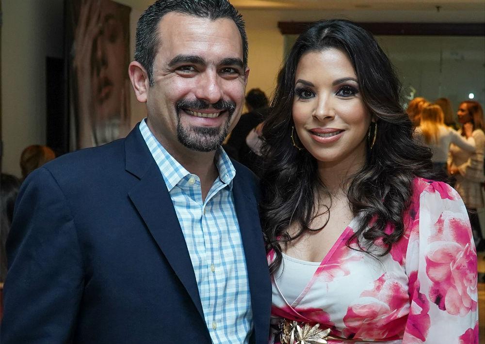 Francisco Feliú y Viviana Mercado. (Suministrada)