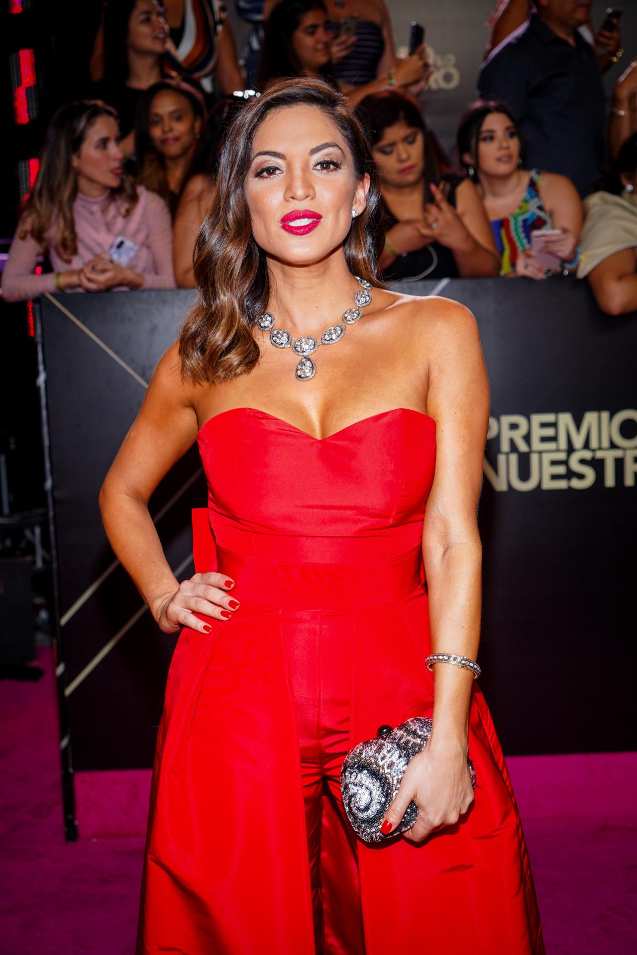 La presentadora de Primer Impacto Pamela Silva. (Suministrada/ Univision)