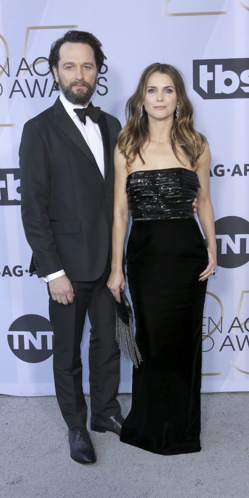 Keri Russell y Matthew Rhys. (AP)