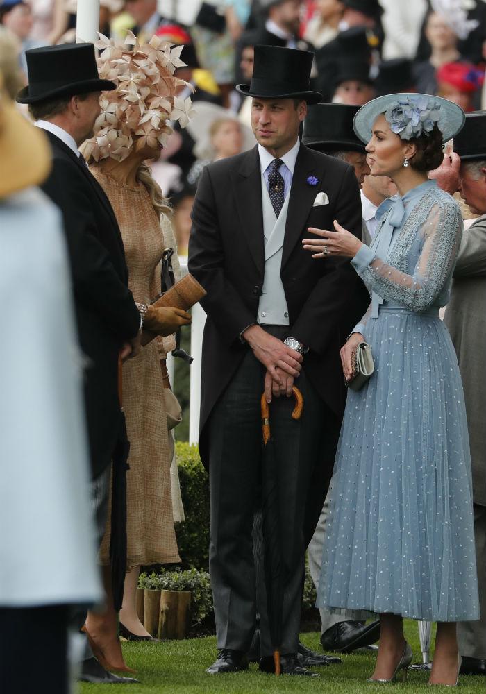 Para esta ocasión, el evento contó con la participación especial de los reyes William Alexander y Maxima, de los Países Bajos. (AP)