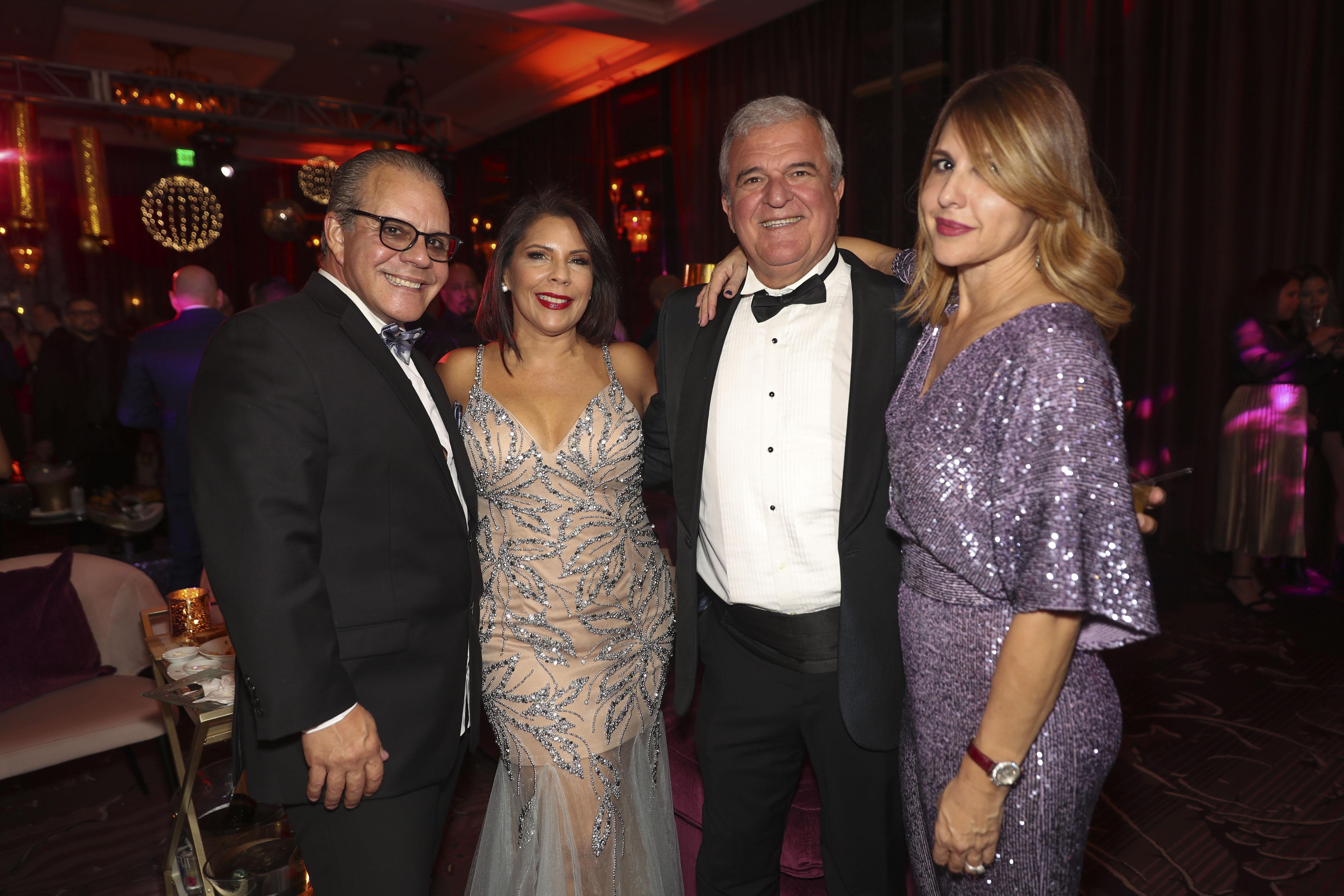 Axel Rocafort, Julia Vega, Pedro Tartak y Marie Arrieta. (Suministrada)