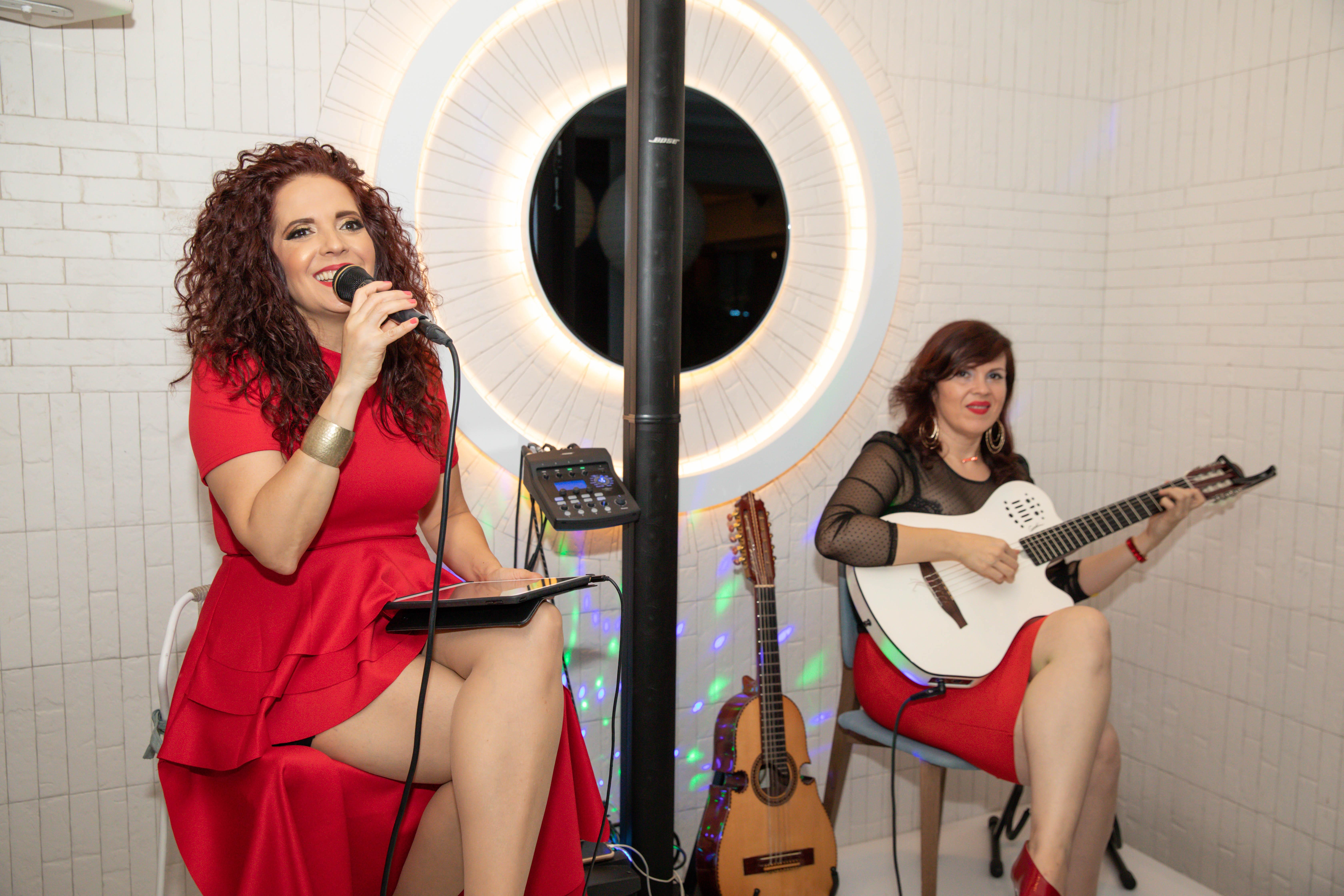 El evento también contó con los variados ritmos de la banda Celenia & Indigo. (Suministrada)