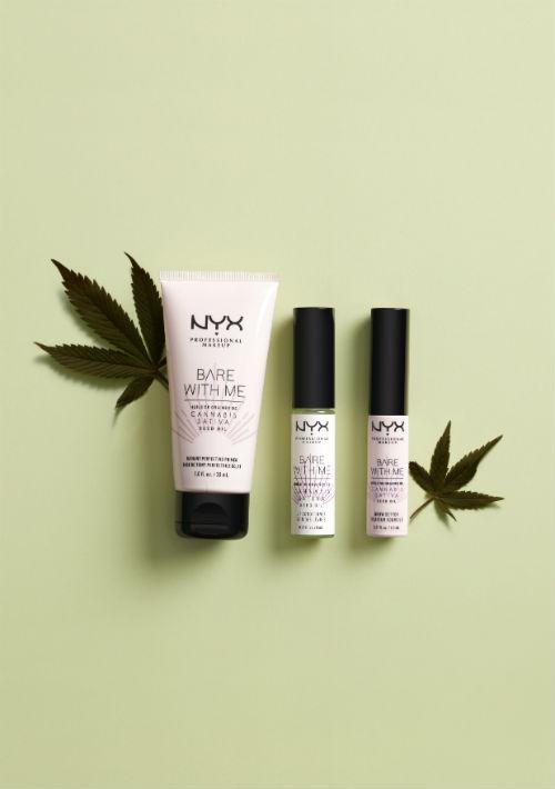 La colección Bare with Me Cannabis Sativa Seed Oil de NYX Professional Makeup cuenta con el Radiant Perfecting Primer, el Lip Conditiones, el Blotting Paper y el Brow Setter. Está disponible en la tienda NYX en Plaza Las Américas. (Suministrada)