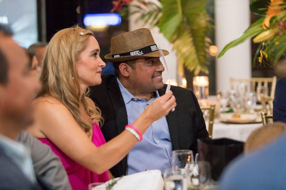 Bengie Molina y su esposa Jamie. (Suministrada)