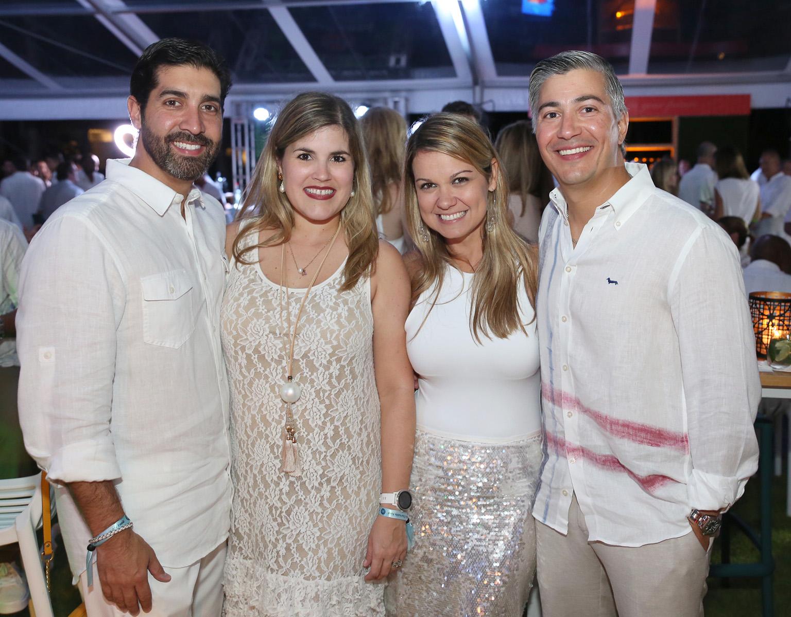 Enrique Rivera, Carla Capó, Cristina Gonzalez y Francisco Viejo. (José R. Pérez Centeno)