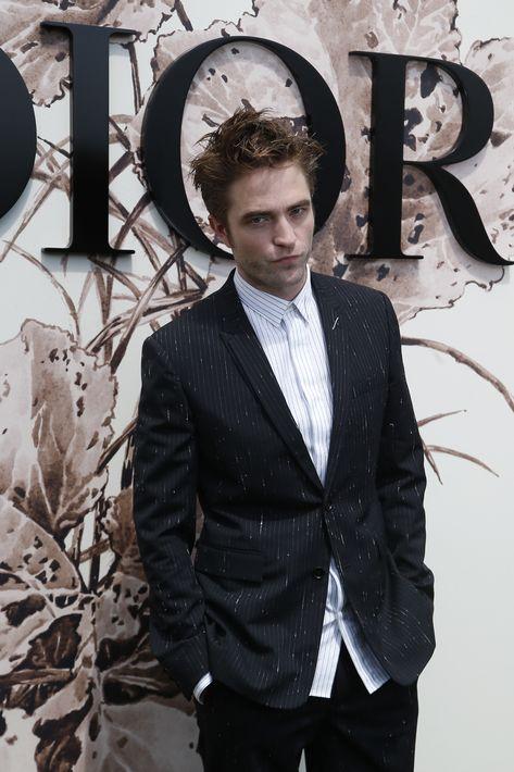 Robert Pattinson en el desfile de Dior.