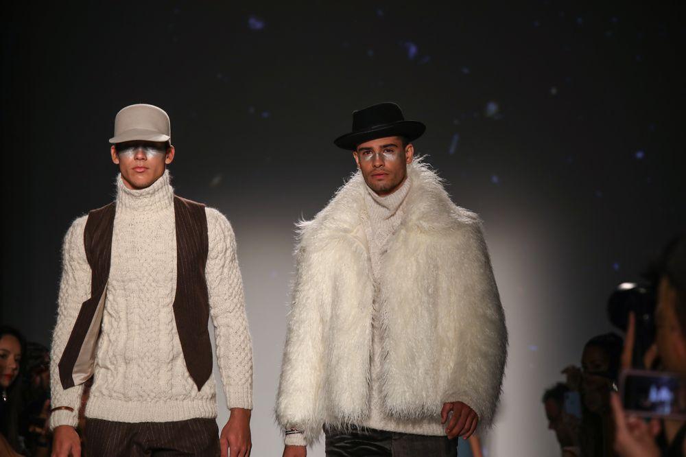 Las colecciones con piezas para otoño e invierno se accesorizaron con sombreros y otros confeccionados en alpaca, ideales para los climas más fríos. (Foto: Suministrada)