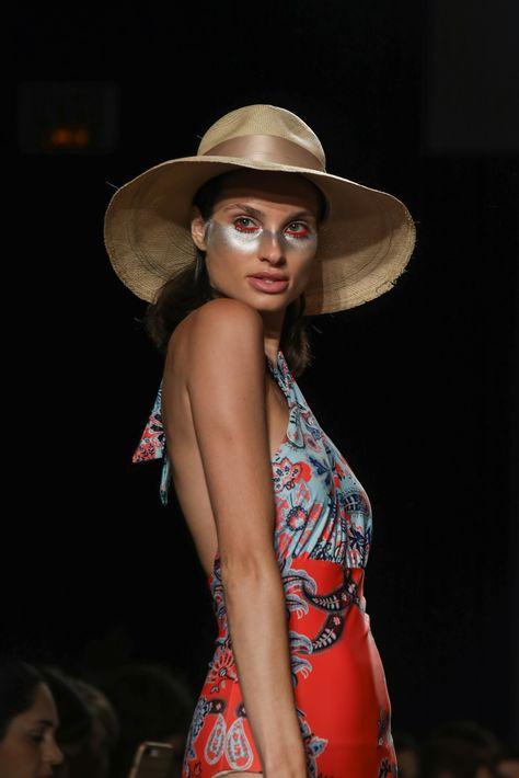 Se presentaron los sombreros estilo Panamá para las colecciones de traje de baño. (Foto: Suministrada)