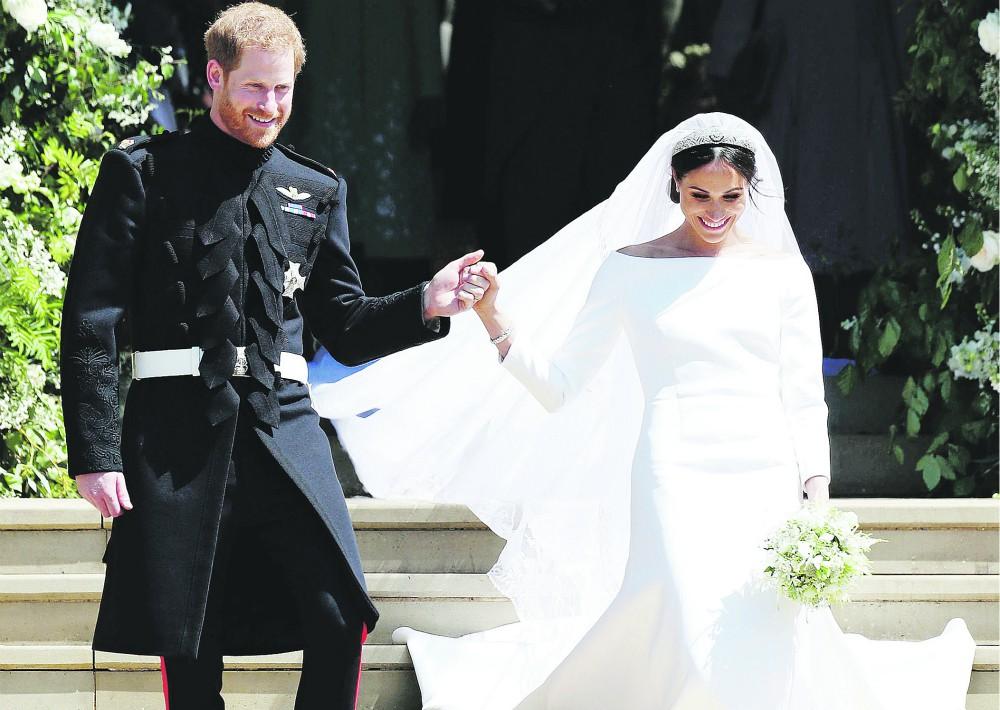 Sin duda, la boda más comentada del año fue la protagonizada por el príncipe Harry y Meghan Markle. La pareja se unió en matrimonio el 19 de mayo en en la capilla de San Jorge en Windsor  y, al momento, esperan su primer bebé.
