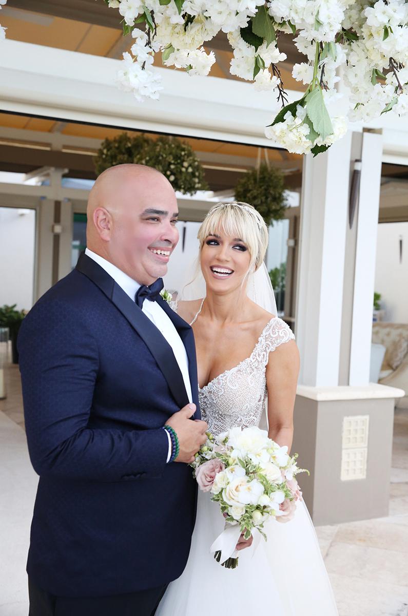Vestido de la novia: CCS Bridal Boutique (Suministrada)