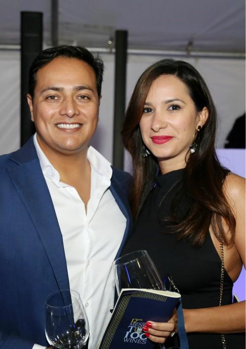 Manuel Saavedra y Milagros Fernández fueron parte de los invitados y también disfrutaron de música, barra de alta coctelería, comida y otras atracciones. (Suministrada)