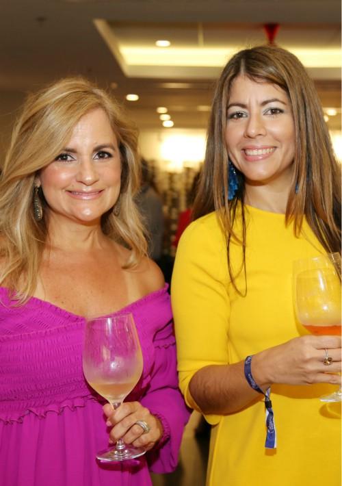 Ana Ramos y Loraine Ojeda. (Suministrada)