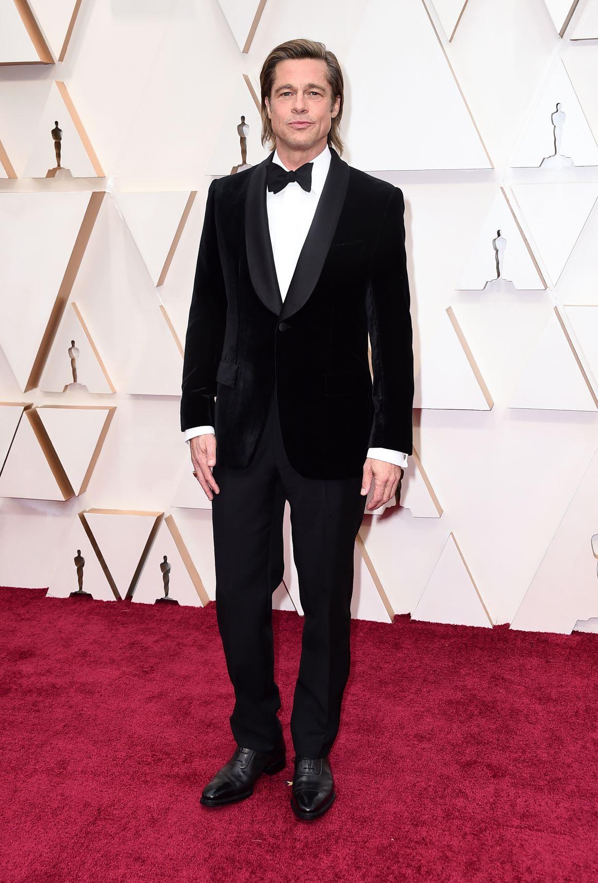 El actor Brad Pitt en Brioni. (AP)