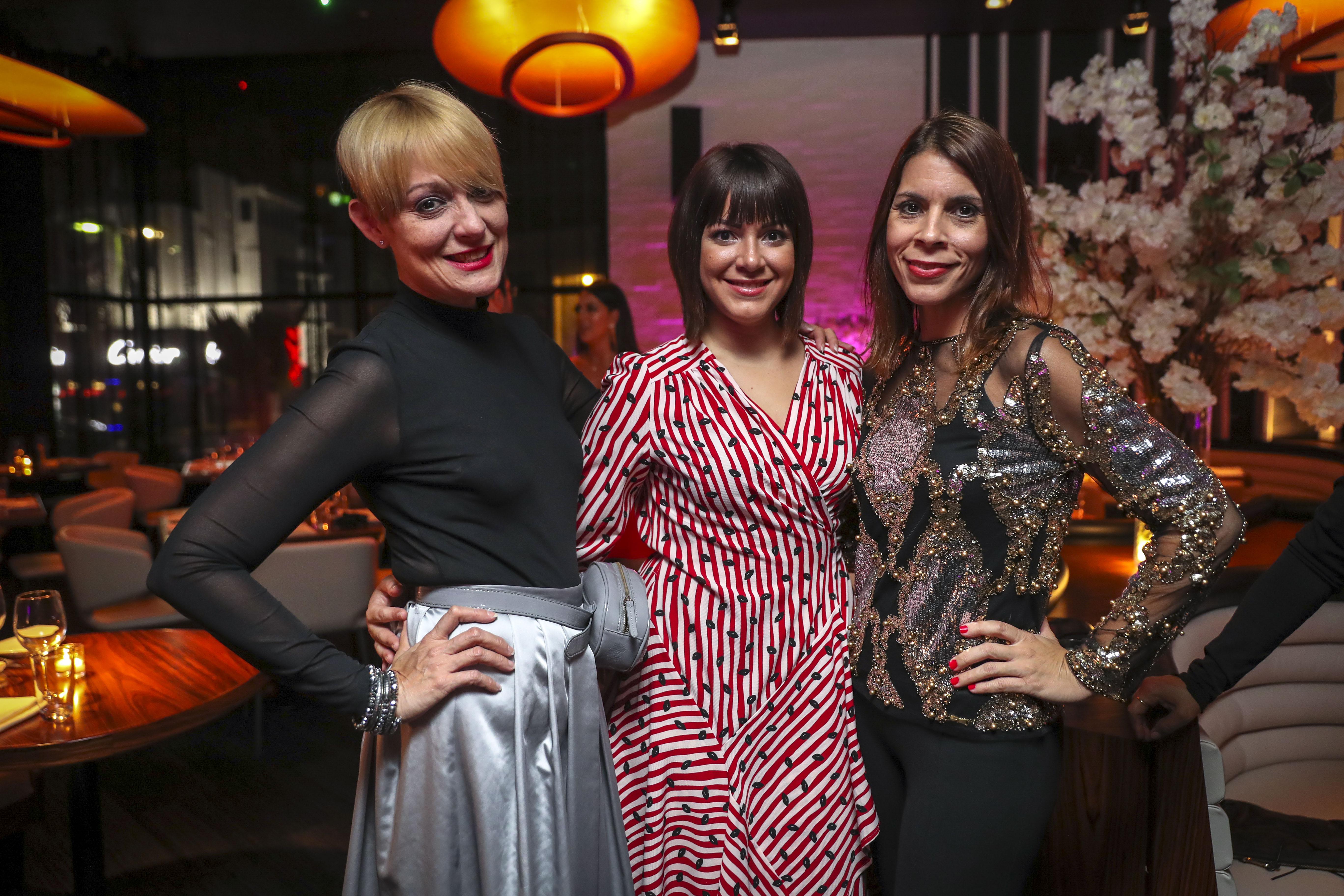 Brenda Pizarro, Yulixa Vélez y Coralis Torres. (Suministrada)