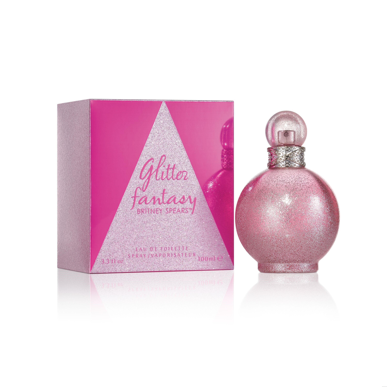 """Glitter Fantasy Britney Spears tiene un aroma floral frutal """"gourmand"""" que brilla con destellos de sofisticación y misterio.  Busca tu fragancia, disponible en Walgreens. (Suministrada)"""
