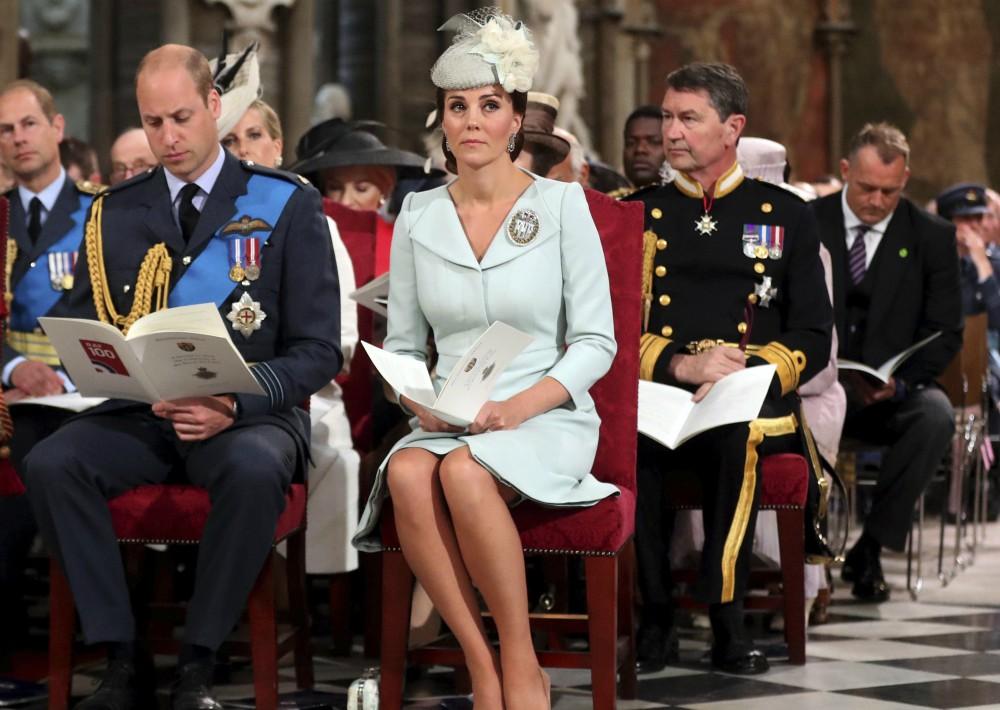 Esta es la segunda reunión de la familia real británica en menos de veinticuatro horas. (Foto: AP)