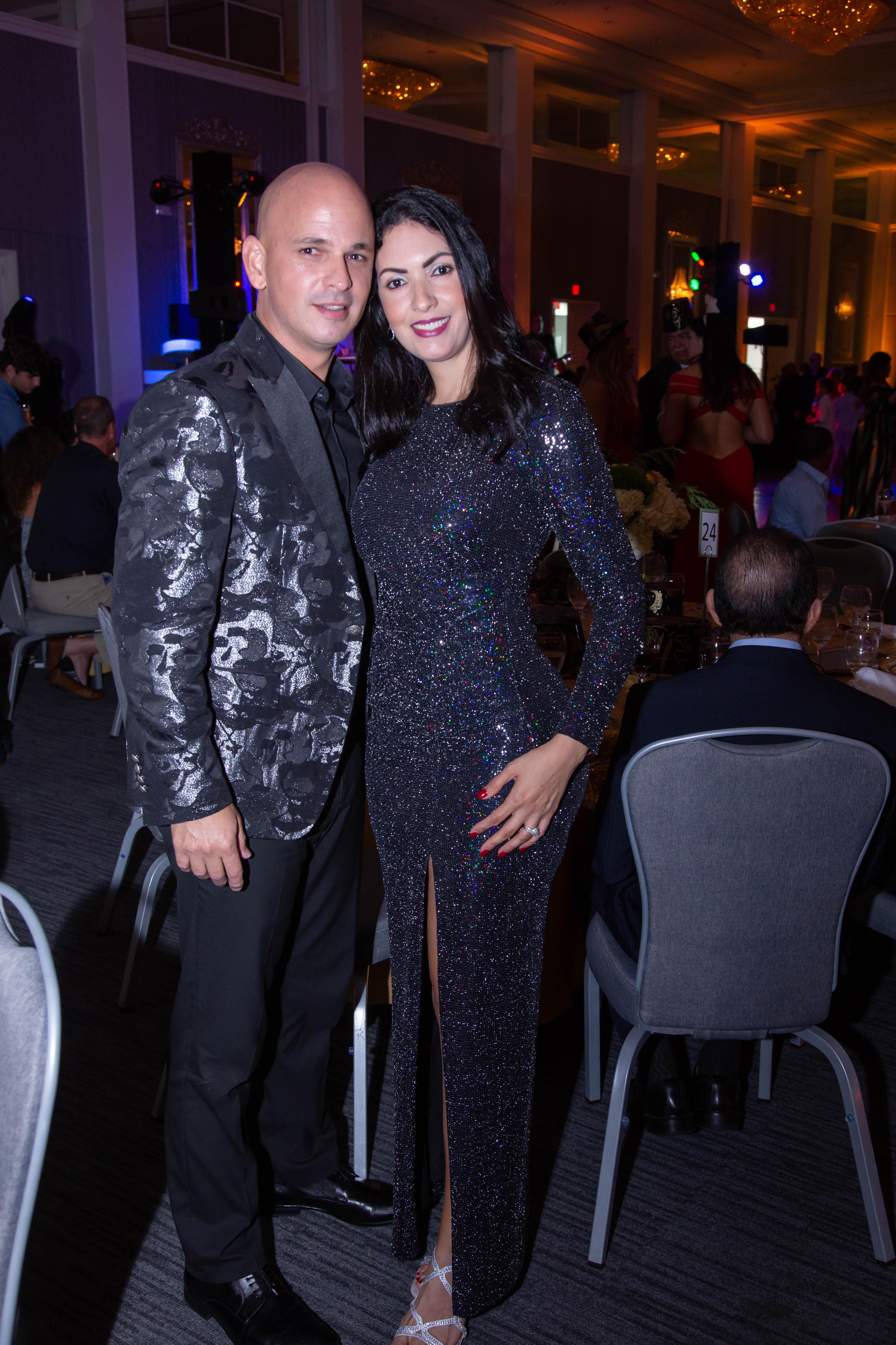Carlos Báez y Limarys Valentín. (Suministrada)