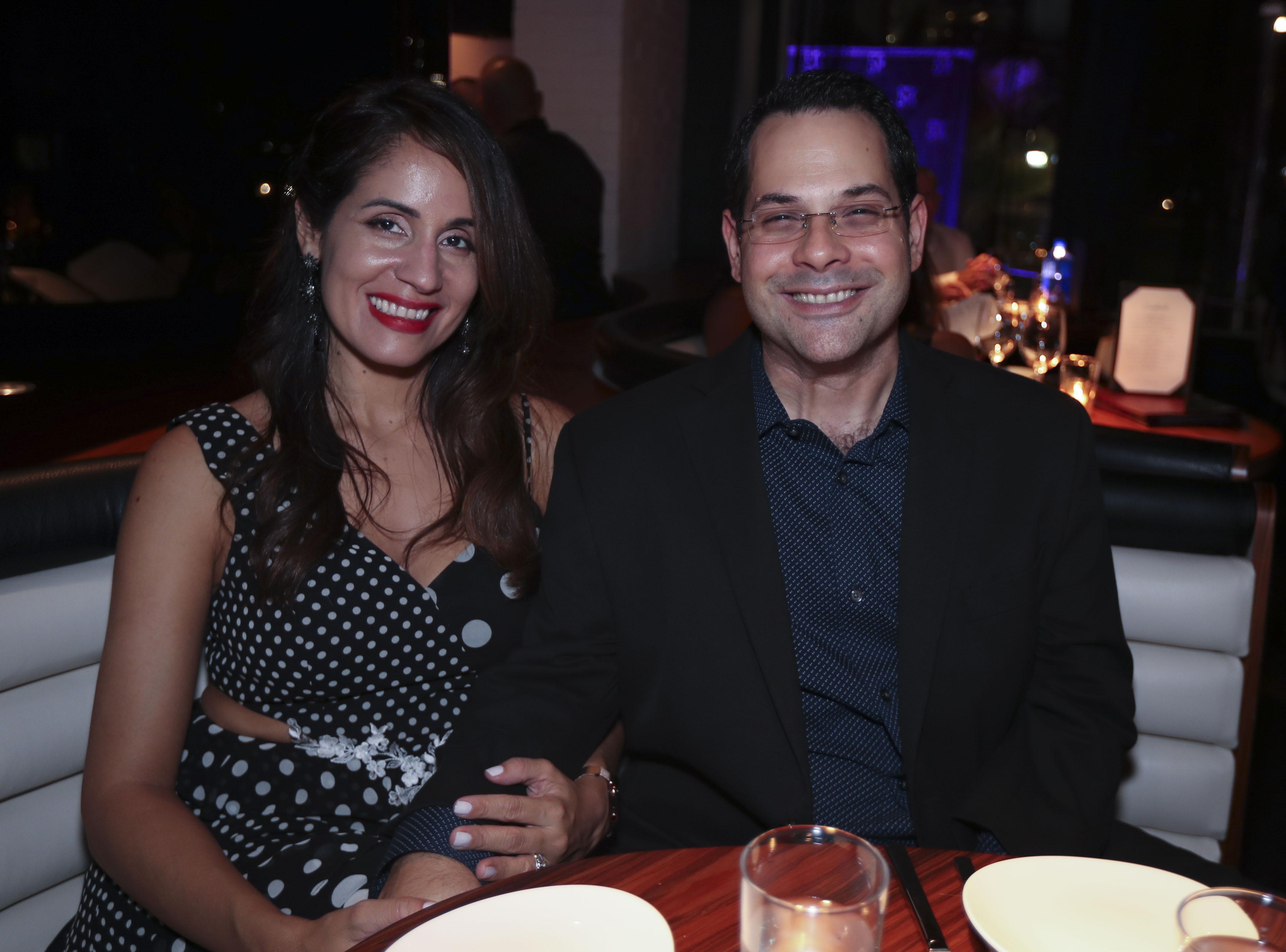 Carlos Gómez y Keila Rivera. (Suministrada)