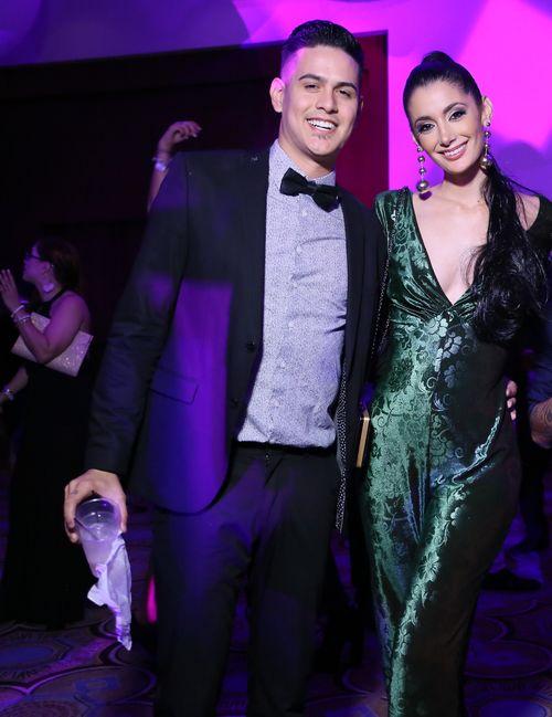 Carlos Manuel Pérez e Ivana Carolina Irizarry.