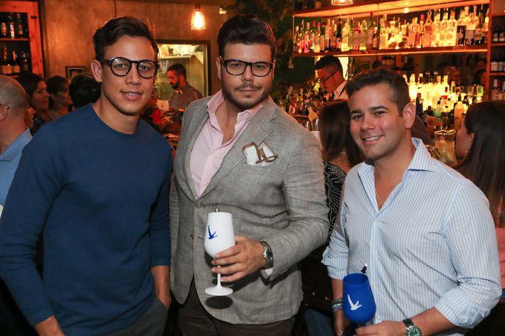 Carlos Rubén Rodríguez, Joseph Padró y Mario Alberghini.