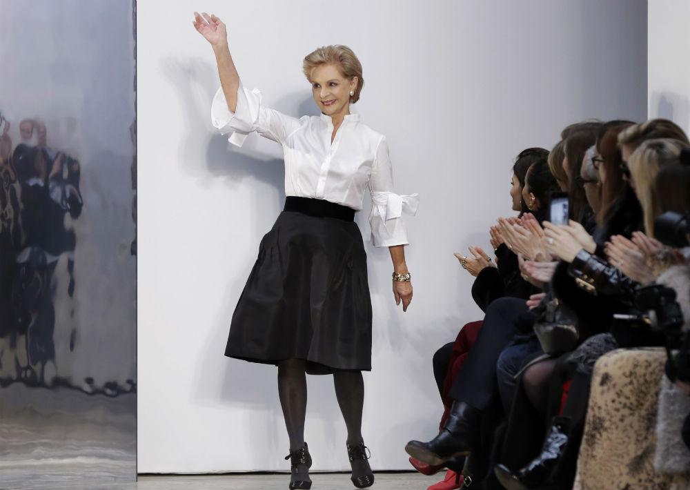 La diseñadora venezolana, Carolina Herrera, comenzó su carrera en la moda al cumplir los 40 años. En la actualidad tiene 78 años. (Archivo)
