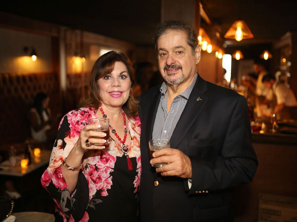 Leandra Zayas y Philip Hopgood. Foto José R. Pérez Centeno