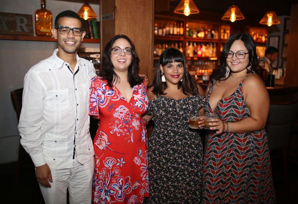 Héctor Tarrido, Alba Guzmán, Yaiza Colón y Frances Valiente. Foto José R. Pérez Centeno