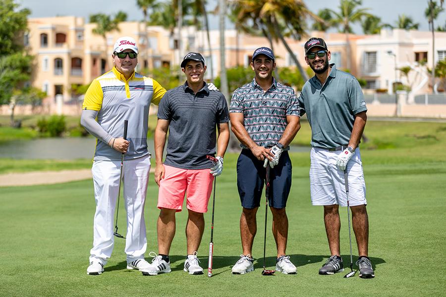 Mario Navarro, Alejandro Pabón, Christian Ortiz y Gabriel de Cárdenas. (Suministrada)