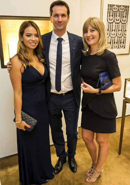 Carolina Hernández, Guillaume Dromel y Delphine Jacque. (Xavier García)