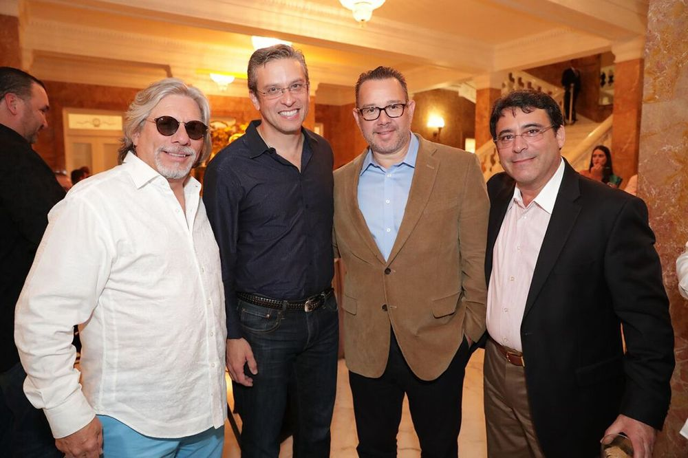Sajo Ruiz, Alejandro García Padilla, Rey Santana.
