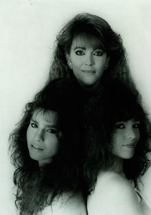 Cuando estuvo con Chantelle, en plena década de los 80, el cabello abultado, con una pollina peinada tipo ola y varios flequillos planchados que cubrían su frente. (Foto: Archivo)