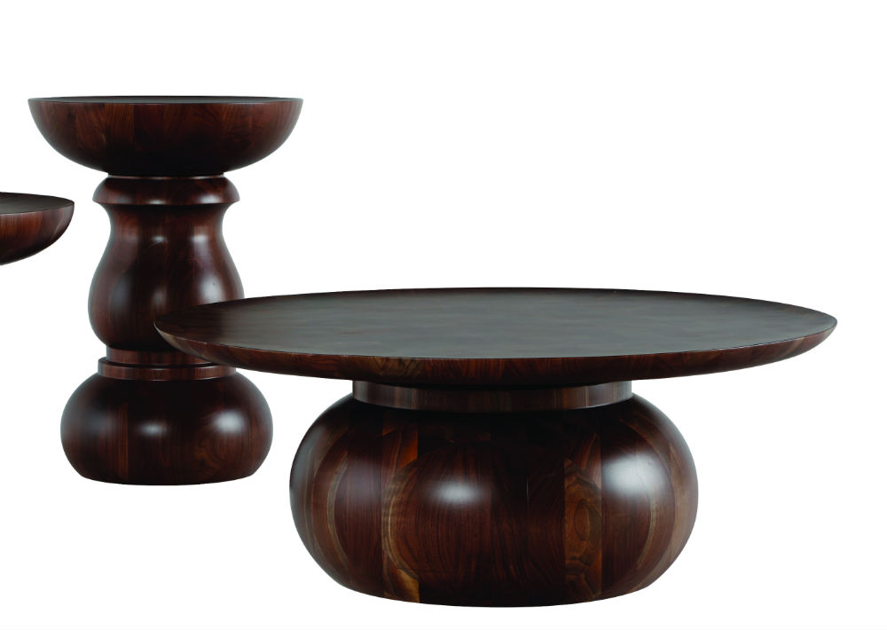 """Bases de mesas """"Chess"""" de la colección """"Globe Trotter"""" de Marcel Wanders disponible en Roche Bobois. (Foto: Suministrada)"""