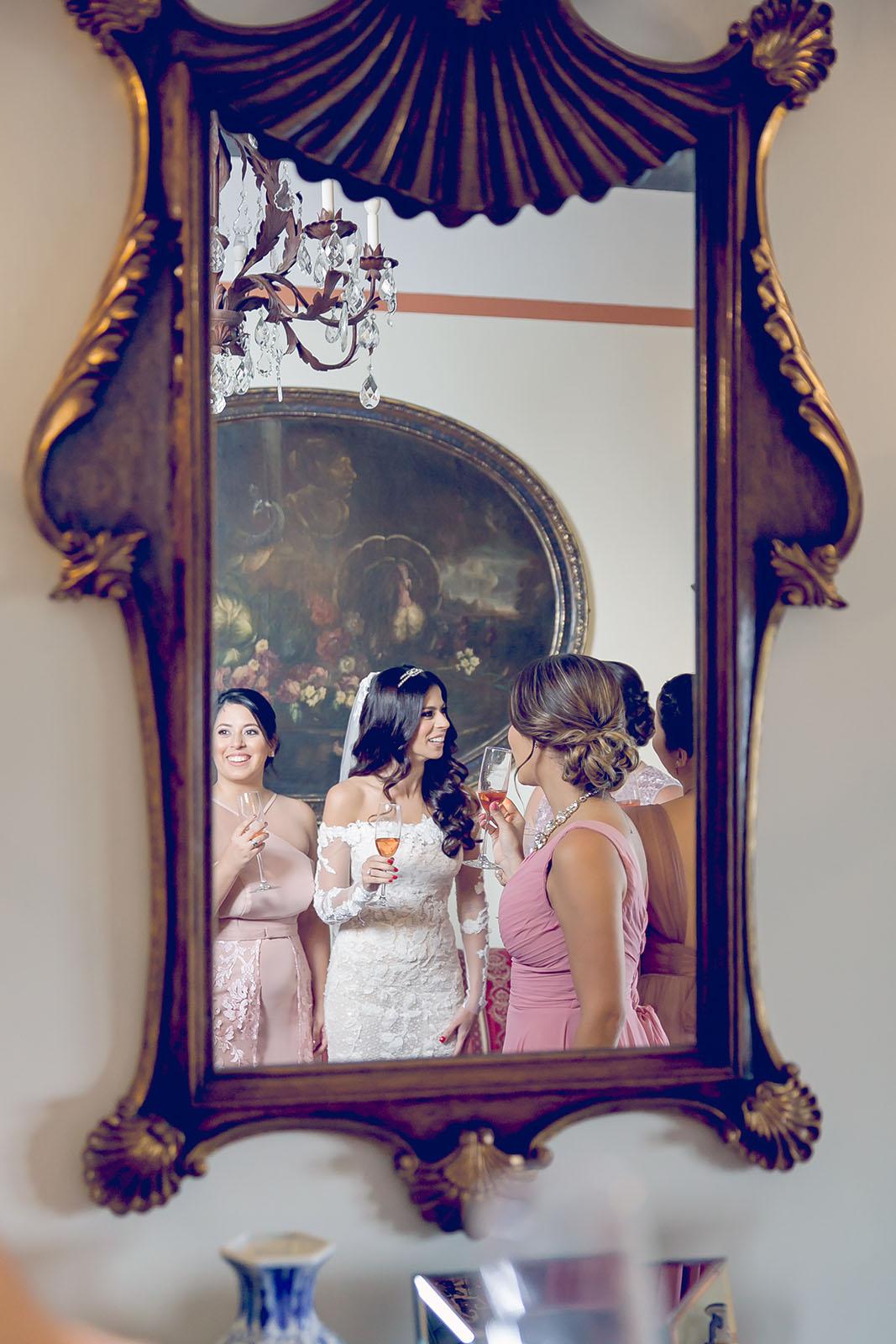 Vestido de la novia: Pronovias. (Suministrada)