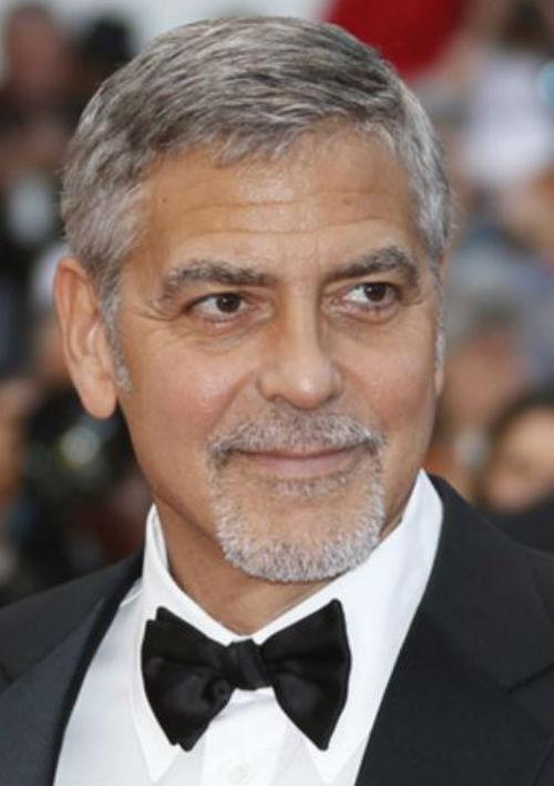 Para George Clooney las canas son un sello de elegancia y sensualidad. (Archivo)