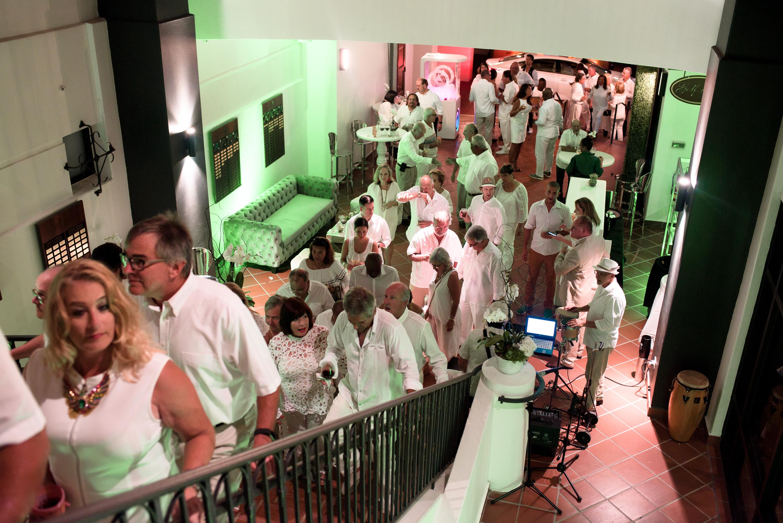 La fiesta incluyó un recorrido por las instalaciones y un agasajo para los miembros de su Country Club. (Suministrada)