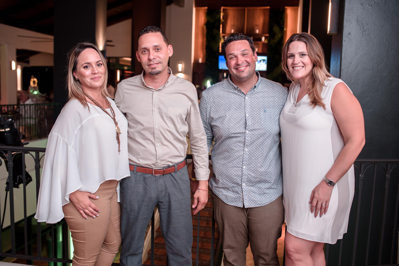 Karla Cintrón, Wigberto Sierra, Juan Alemañy y Alexandra Torres. (Suministrada)