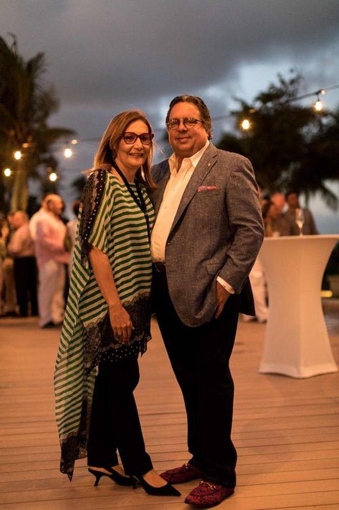 José J. Morales e Ilia Toledo (Foto suministrada).