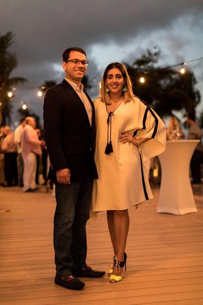 Dr. Samuel Fernández e Ilia Morales. (Foto suministrada).