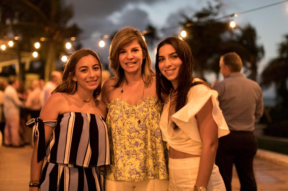 Joanna Pagán, Glory Pizarro, Mariana Muñoz. (Foto suministrada).