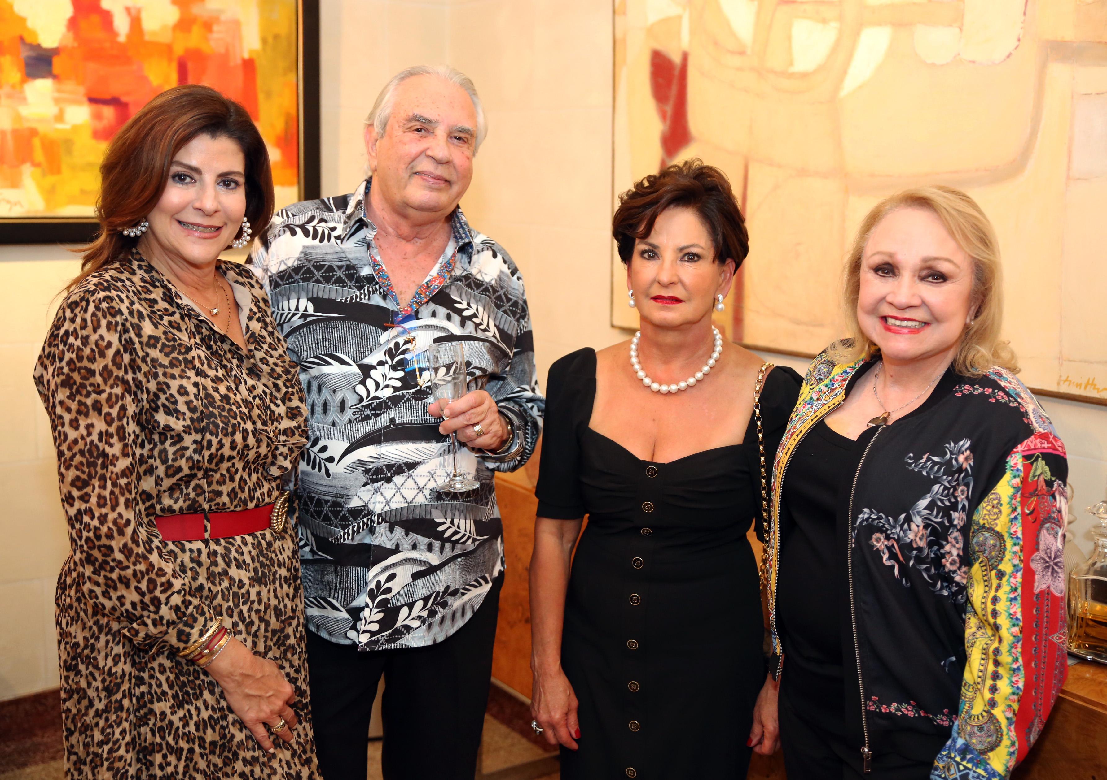 Ileanexis Colón, Kiko Márquez, Anabel Rivera y Milly McCormick. (José. R. Pérez Centeno)