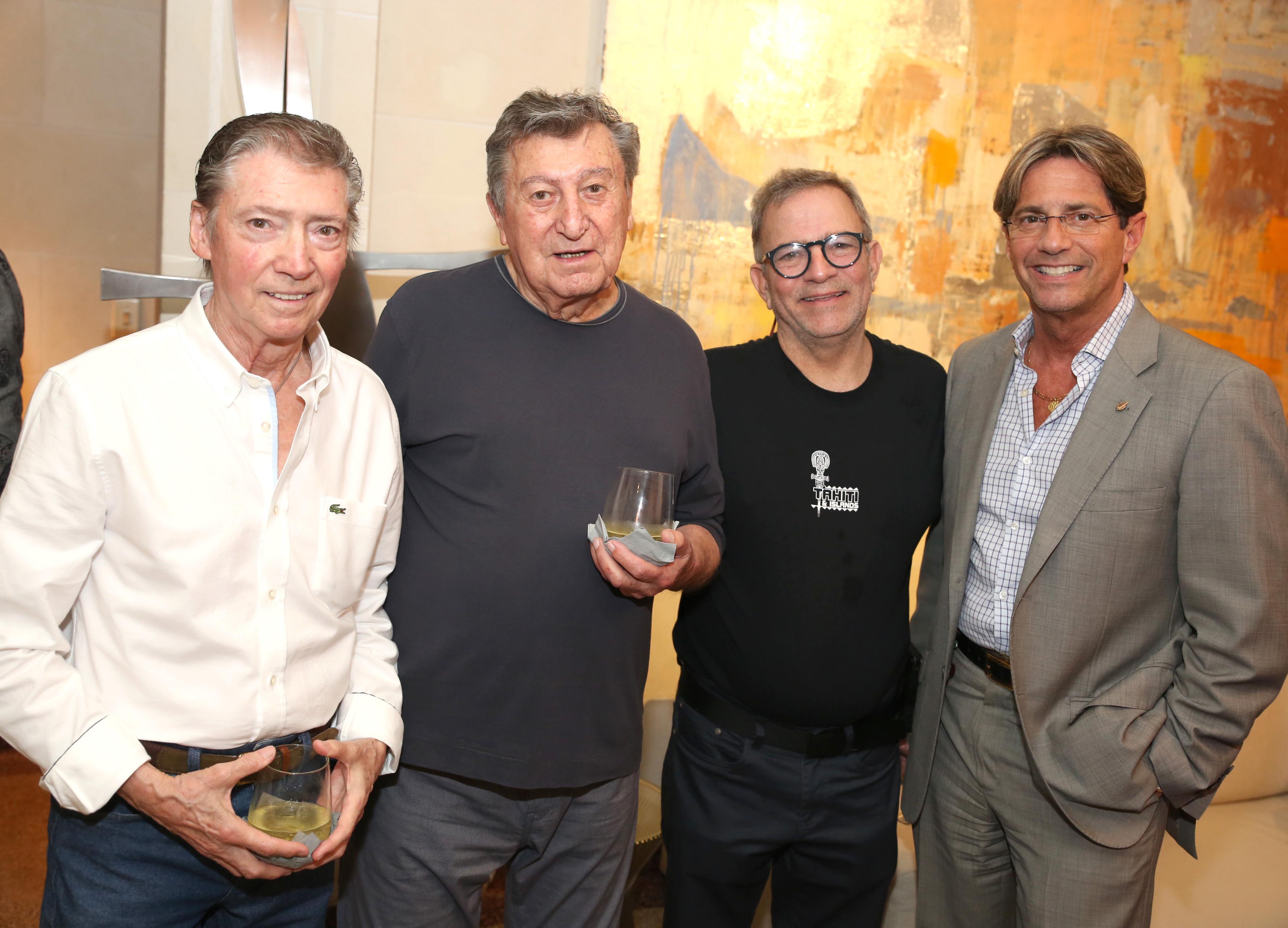 Fernando López, Jorge Roselló, Gabriel Hernández y Jorge Roig. (José. R. Pérez Centeno)