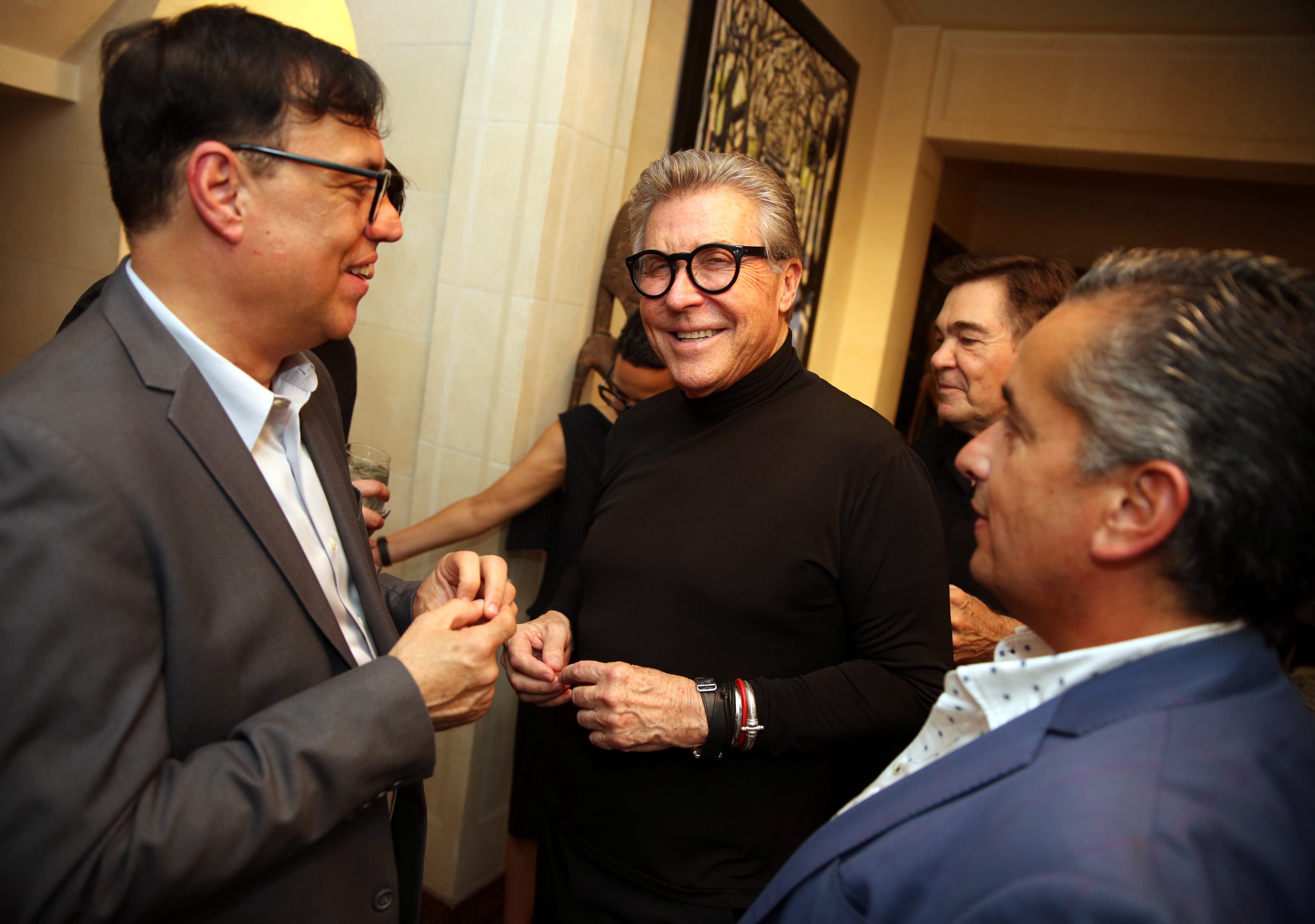 David Méndez, Nono Maldonado y Juan Ernesto Ayala. (José. R. Pérez Centeno)